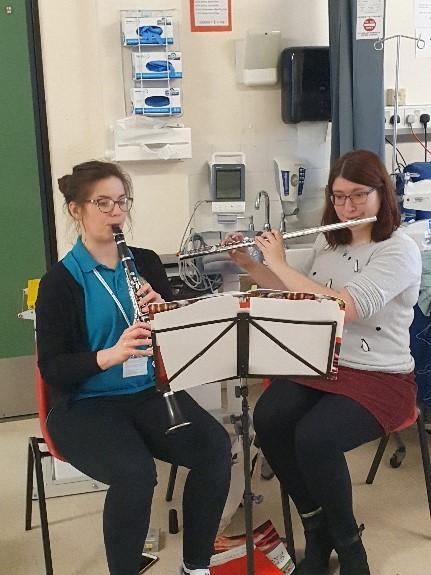 Harmoni Cymru on Ward B1