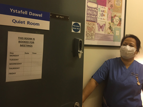 General Surgery Quiet Room – a success story against huge odds!